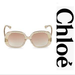 Brand New! Chloe Sunglasses with Embellishments